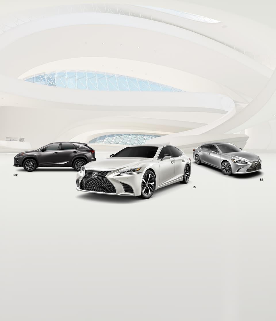 خودروهای شرکت لکسوس